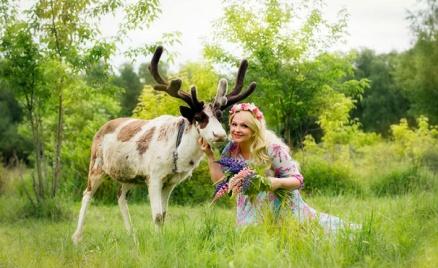 Экскурсия на оленью ферму