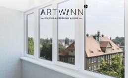 Отделка балконов от компании Artwinn