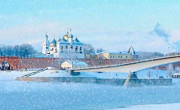Скидка на Тур «Новгородские земли» на 1 день от туристической компании «Хохлома Тур». Скидка 61%