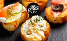 Фуршетные сеты от ресторана «БАУMAN»