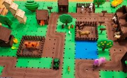 Светящийся игровой город «Эваполис»