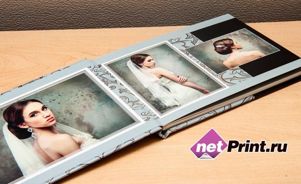 Скидка на Печать фотокниг Принтбук Премиум и Принтбук Royal в твердой персональной обложке, а также печать до 200 фотографий на бумаге Fuji Supreme от сервиса NetPrint. Скидка до 35%