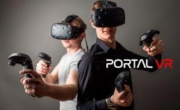 Игры в шлеме в Portal VR «Прокшино»