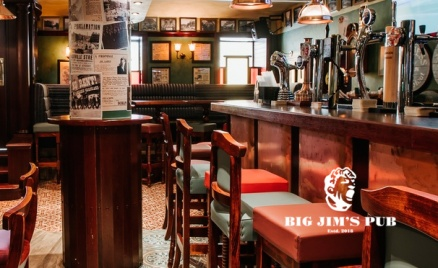 Все меню в Big Jim's Pub