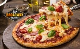 Неаполитанская пицца + «Кока-кола»