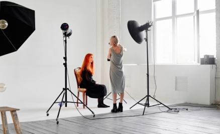 Фотосессия в студиях Creative Photo