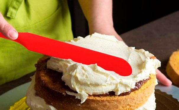 Скидка на Кешбэк 157р. от покупки красного силиконового ножа для приготовления еды