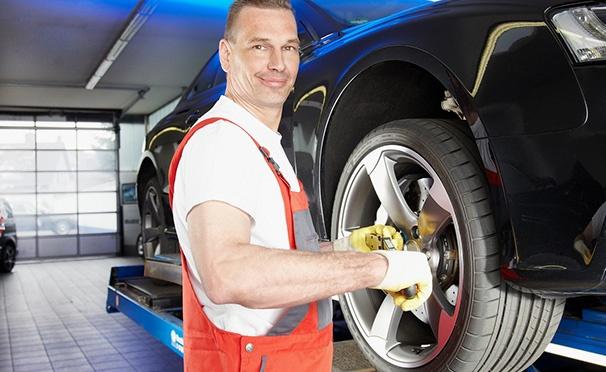 Скидка на Шиномонтаж и балансировка четырех колес от R13 до R22 в сети автотехцентров «Пит Стоп». Скидка до 70%