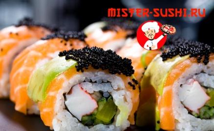 Роллы и пицца от Mister Sushi