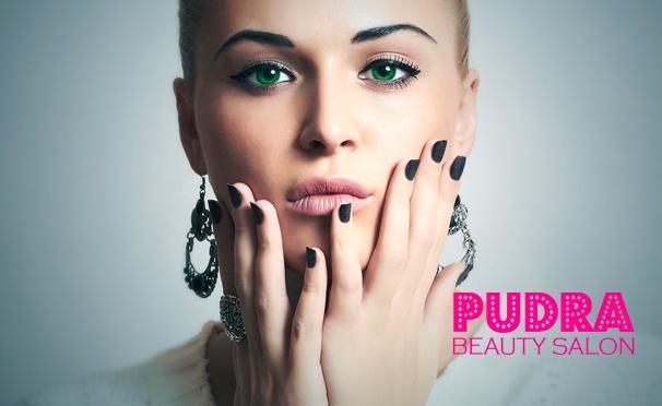 Скидка на Маникюр и педикюр, стрижка, окрашивание, «Ботокс для волос», ламинирование Constant Delight, шугаринг или восковая эпиляция, наращивание ресниц и не только в салоне красоты Pudra. Скидка до 82%
