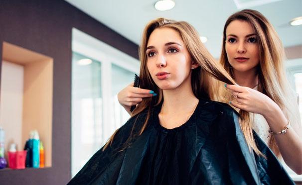 Скидка на Парикмахерские услуги в салоне красоты Studio: мужская и женская стрижка, окрашивание в 1 тон, омбре, шатуш, балаяж, карвинг, система восстановления волос TefiPlex, реконструкция волос и не только. Скидка до 69%