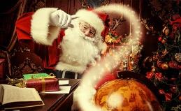 Видеопоздравление от Деда Мороза
