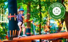 Веревочный парк для взрослых и детей