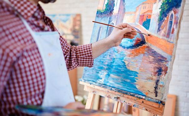 Скидка на Мастер-классы по рисованию акрилом в художественной студии WoodArt.Fun. Скидка до 52%