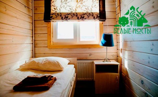 Скидка на Отдых в Карелии на берегу Ладожского озера в гостевом доме «Ладога-Фьорд» от туристического комплекса «Белые мосты». Скидка до 49%