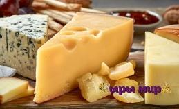 Корзины с сырами, сырными конфетами