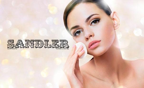 Скидка на Косметологические услуги в салоне красоты Sandler: RF-лифтинг, микротоковая терапия, лечение акне, фотоомоложение, удаление пигментации и купероза. Скидка до 83%